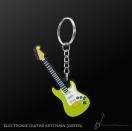 Porte clefs guitare électrique vert (MDKC33) *** PRIX NET ***